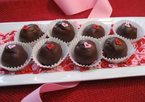 Chocolate Covered Cookie Butter Balls