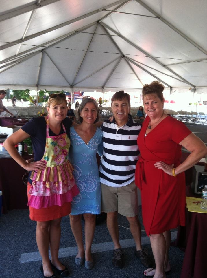 Cooking Friends: Lisa Keys, Brett Youmans, Laurie Lufkin