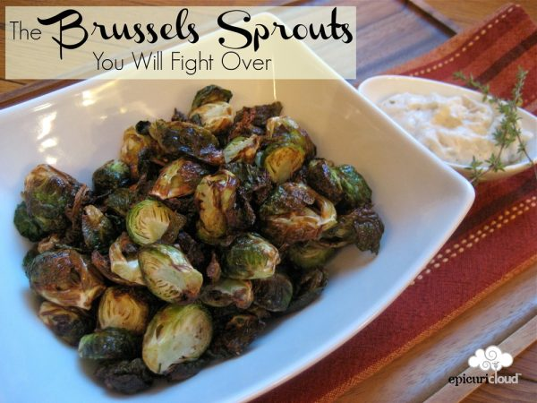 The Brussels Sprouts You Will Fight Over – Airfryer