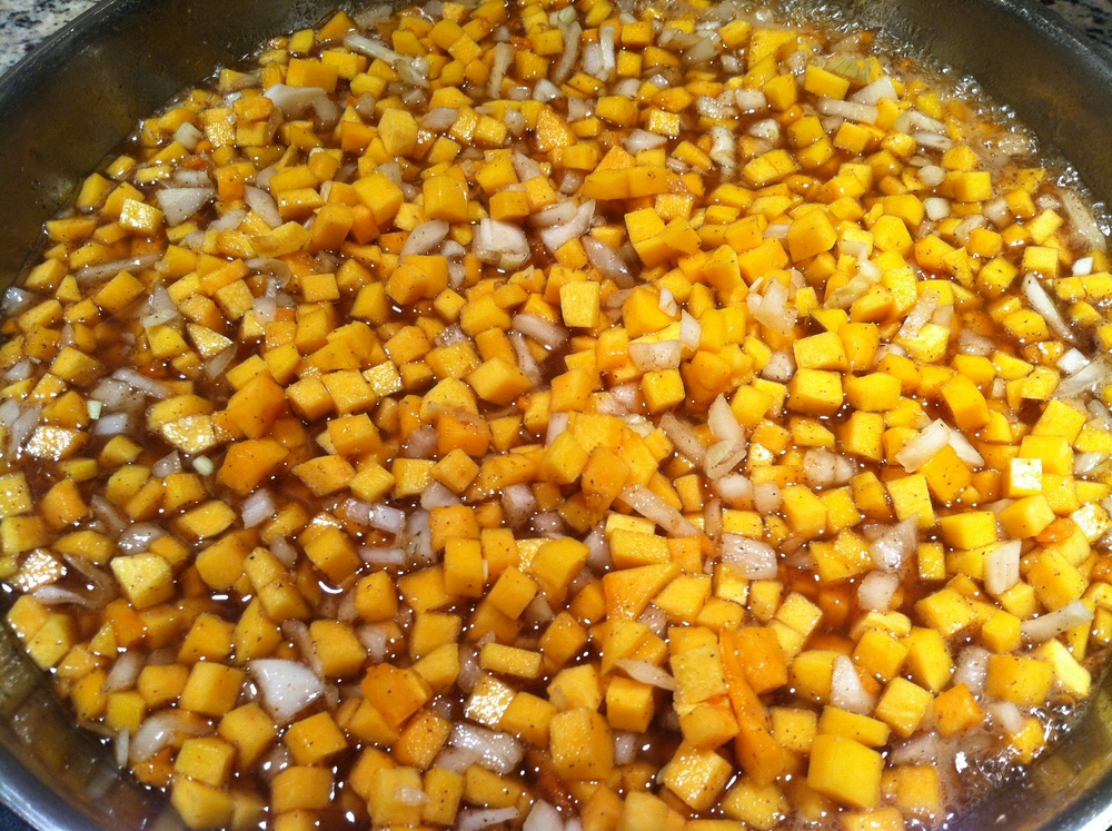 Simmering Pumpkin Chutney