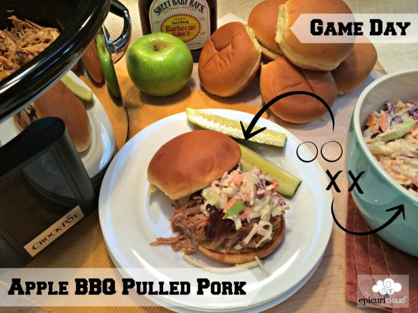 Game Day Apple BBQ Pulled Pork