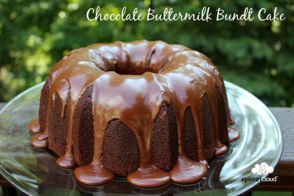 Chocolate Buttermilk Bundt Cake