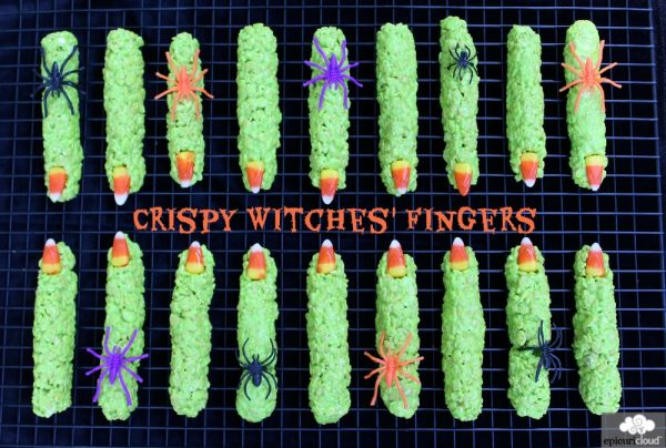 Crispy Witches' Fingers Recipe and Tutorial