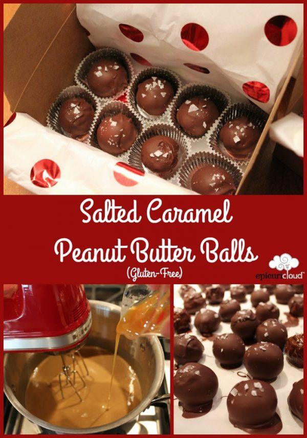 Salted Caramel Peanut Butter Balls (Gluten-Free)