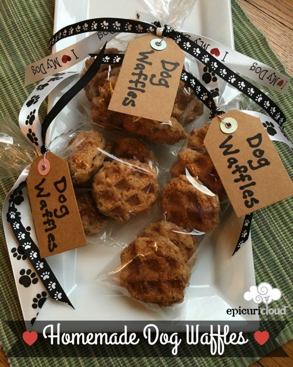 "Homemade Dog Waffles – ""Woofles"""