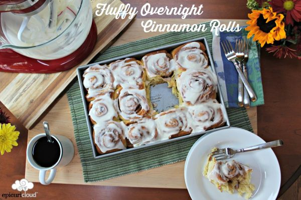 Fluffy Overnight Cinnamon Rolls Recipe