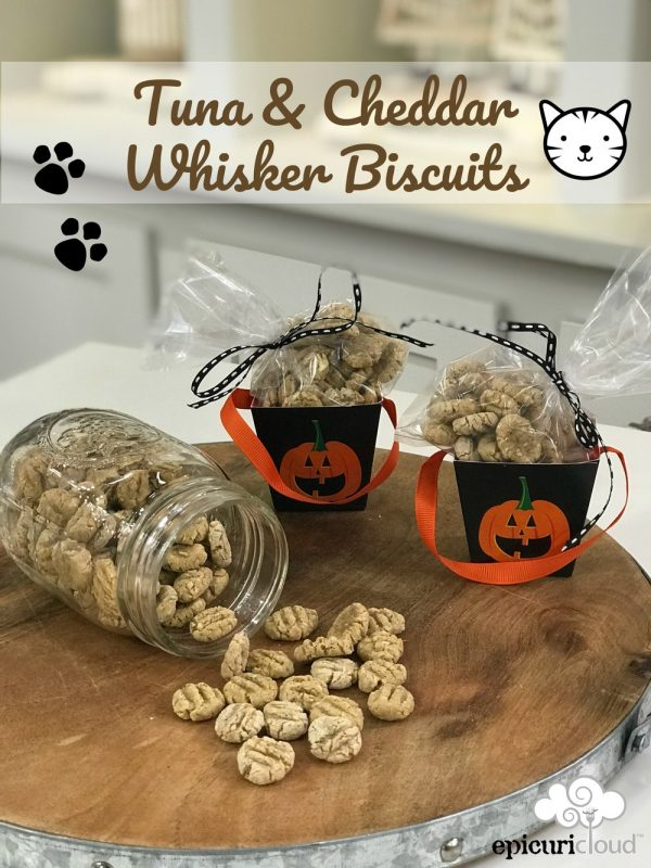Tuna & Cheddar Whisker Biscuits – Homemade Cat Treats