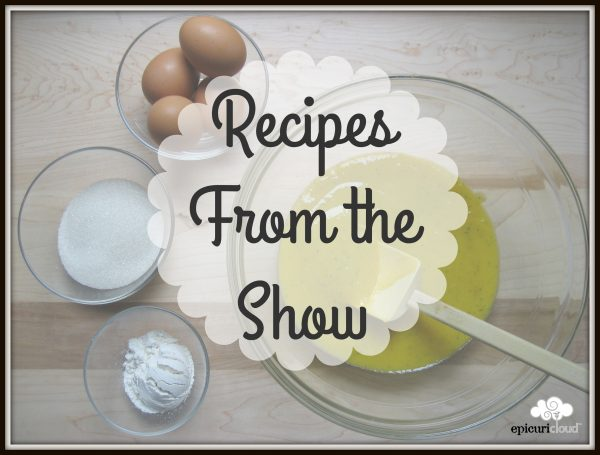 QVC Demo Recipes: Wed. 2/27
