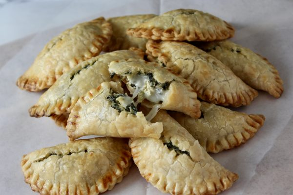 Mini Spinach and Artichoke Empanadas