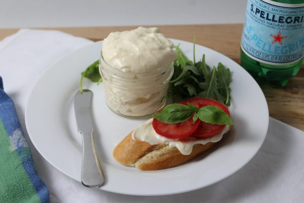 Homemade Mayonnaise – (eggless)