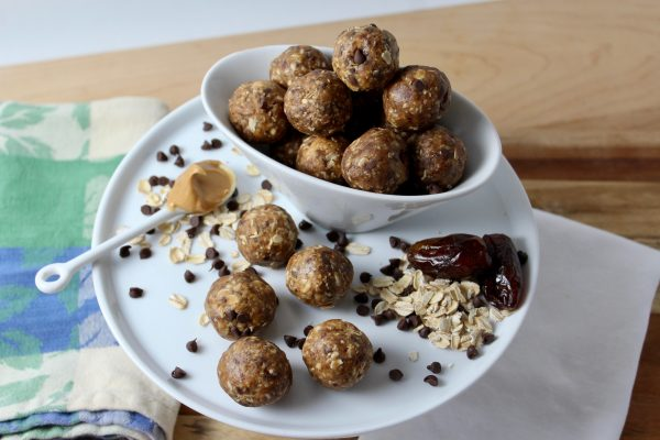 Peanut Butter Cup Energy Balls