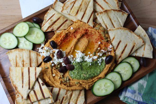 Savory Roasted Butternut Squash Hummus
