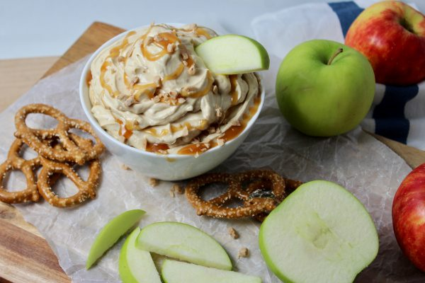 Whipped Caramel Toffee Dip
