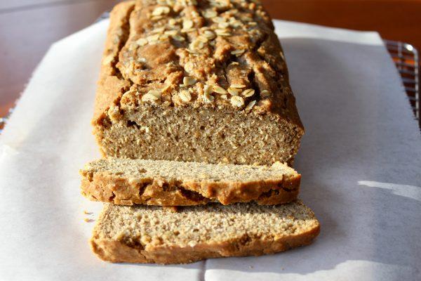 Oat & Cinnamon Beer Bread (DIY Oat Flour, No Yeast)
